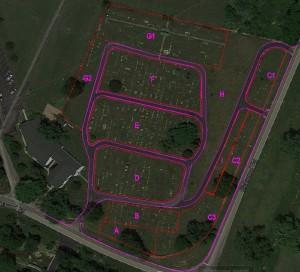 Cemetary Site Plan